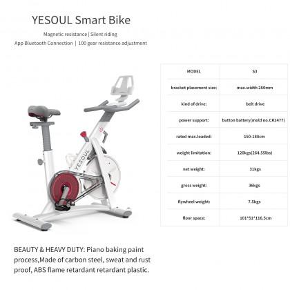 Yesoul Spinning Bike Magnetic Bike S3